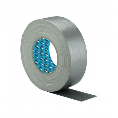 10-190 Gewebeband silber 50 mm x 50 m