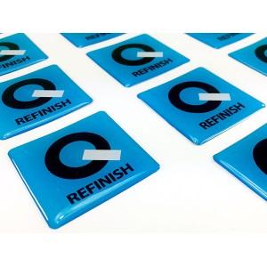 Q 3D-Sticker