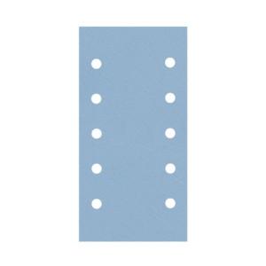 30-335 Schleifstreifen Premium Blau 115 x 230 mm Velcro 10-Loch