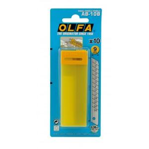 OLFA Ersatzklingen 9 mm (10 Stk.)