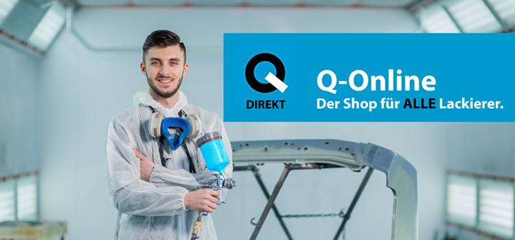 Q-Online - der Shop für ALLE Lackierer!